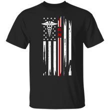 Load image into Gallery viewer, Registered Nurse Thin Red Line Flag Apparel