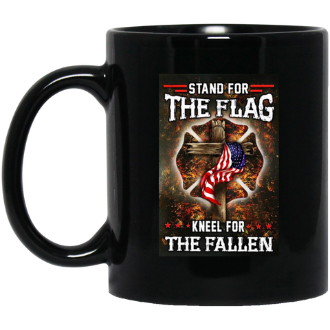 Stand for the Flag Kneel for the Fallen Mug