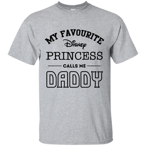 My Favourite Disney Princess Calls Me Daddy Father's Day Mens Shirt