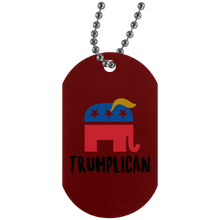 Load image into Gallery viewer, Trumplican Dog Tag Necklace