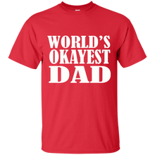 Load image into Gallery viewer, Father's Day Gift - World's Okayest DAD