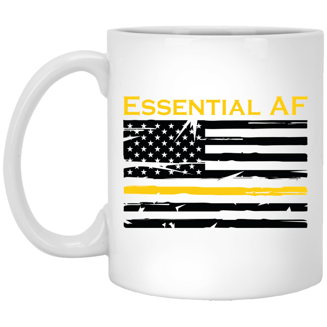 Yellow Thin Line Essential AF Mug