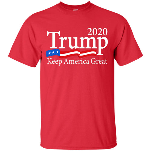 Trump T Shirt - 2020 Keep America Great Shirt