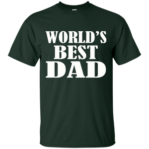 Father's Day Gift - World's Best DAD - Mens T Shirt