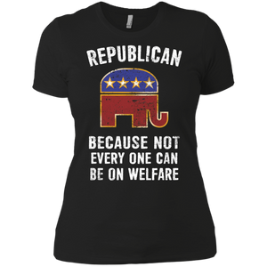 Trump 2020 Republican Women Boyfriend T-Shirt