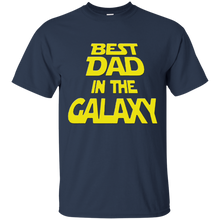 Load image into Gallery viewer, Father's Day Gifts - Best Dad In The Galaxy Mens T-shirt