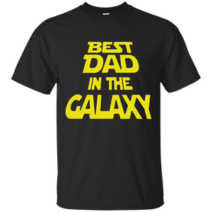 Father's Day Gifts - Best Dad In The Galaxy Mens T-shirt