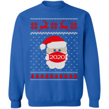 Load image into Gallery viewer, 2020 Santa Wearing Mask Sweatshirt