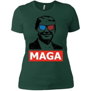 Trump MAGA Women Boyfriend T-Shirt