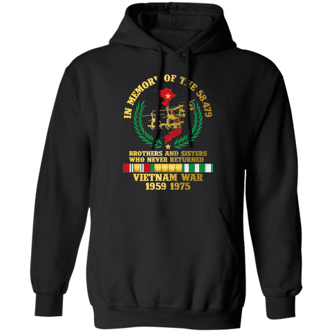Vietnam War 1950-1975 Brother and Sisters Who Never Returned - Apparel