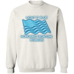 Honoring Frontline Workers Light it Blue Apparel