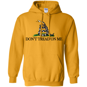 Gadsden Flag Dont Tread On Me Pullover Hoodie