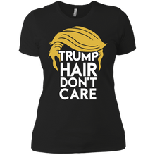 Load image into Gallery viewer, Trump Hair Don't Care Boyfriend T-Shirt