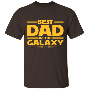 Father's Day Gift - Best Dad In The Galaxy - Mens T Shirt