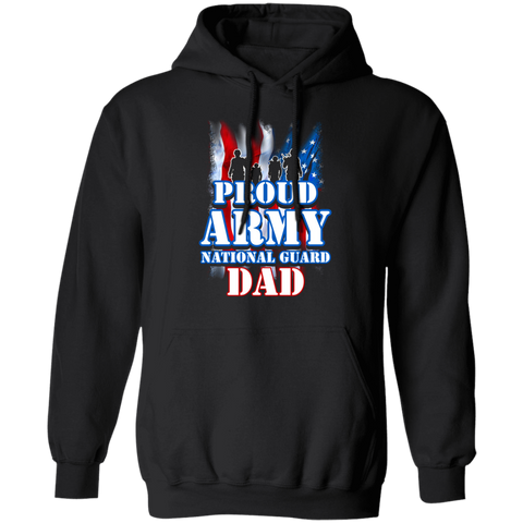 Proud Army National Guard Dad Apparel