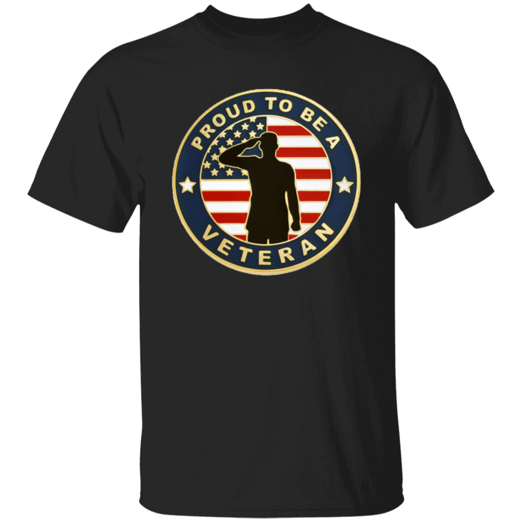 Proud To Be A Veteran Apparel