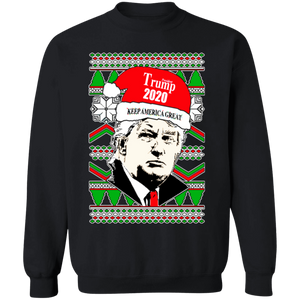On Coast Trump 2020 Keep America Great Christmas Sweatshirt