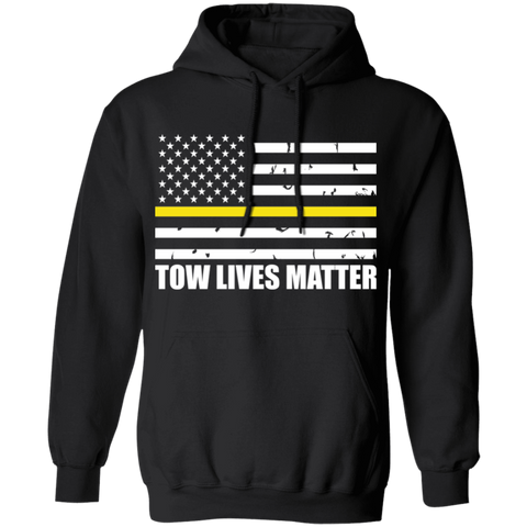 Yellow Thin Line - Tow Lives Matter Apparel