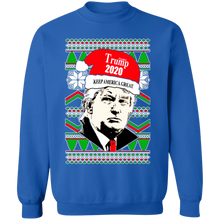 Load image into Gallery viewer, On Coast Trump 2020 Keep America Great Christmas Sweatshirt