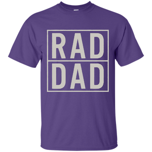 Father's Day Gift - RAD DAD - Mens T Shirt