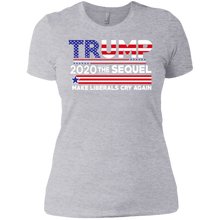 Load image into Gallery viewer, Trump 2020 The Sequel Boyfriend T-Shirt