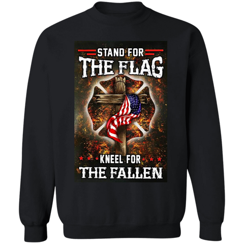 Stand for the Flag Kneel for the Fallen Apparel