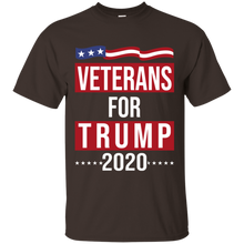 Load image into Gallery viewer, Trump 2020 Mens Shirt - Veterans for Trump 2020