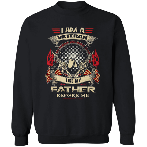 I Am A Veteran Like My Father Before Me