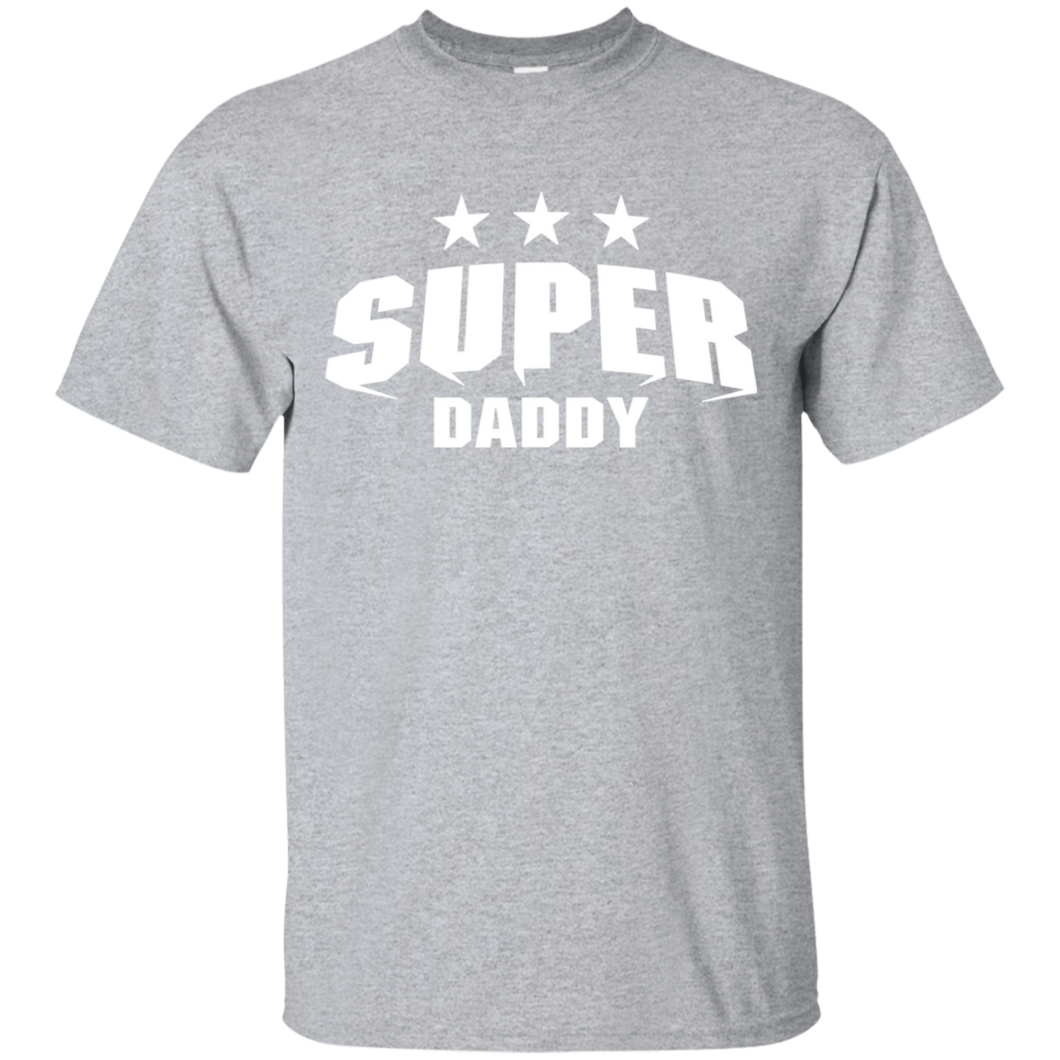 Father's Day Gift - Super Daddy - Mens T Shirt
