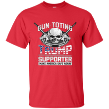 Load image into Gallery viewer, Gun Toting Trump Supporter Mens Shirt