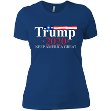 Load image into Gallery viewer, Trump 2020 Keep America Great Boyfriend T-Shirt