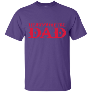 Father's Day Gift - Heavy Metal DAD - Mens T Shirt