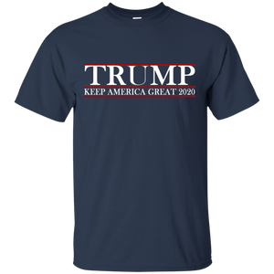 Trump Keep America Great 2020 Shirt for Men and Hat + Free Trump Rally Flag Combo Deal