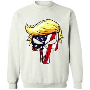 Trump Punisher American Flag