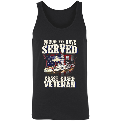 Proud To Have Served - Coast Guard Veteran