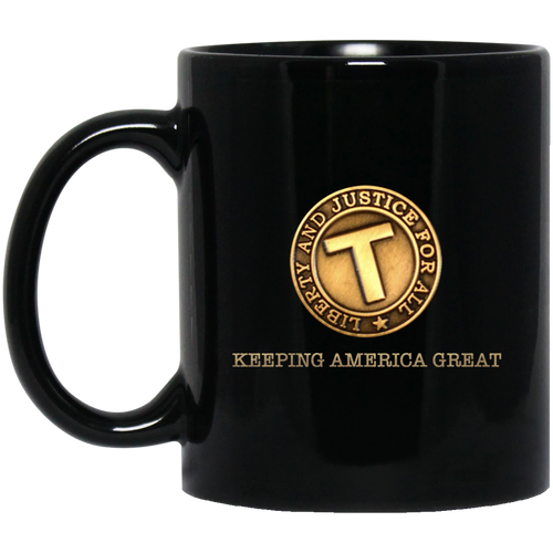 Limited Edition Donald Trump Liberty and Justice For All Keeping America Great - Mug