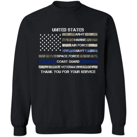 Thank You For Your Service Apparel