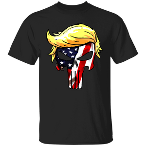 Trump Punisher Full-Color American Flag - Apparel