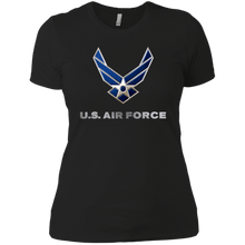 Load image into Gallery viewer, US Airforce Ladies Boyfriend T-Shirt