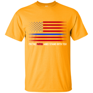 NRA T-shirt for Men - I'm the NRA and I Stand With You