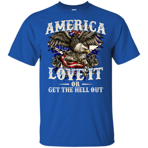 American Eagle 4th of July Mens Tee