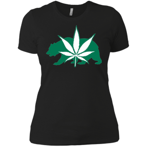 California Weed Community Boyfriend T-Shirt