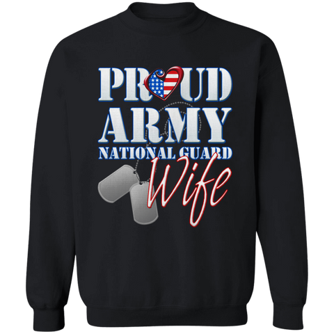 Proud Army National Guard Wife Apparel
