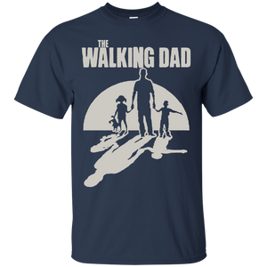 Father's Day Gift - The Walking Dad - Mens T Shirt