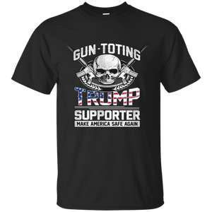 Gun Toting Trump Supporter Mens Shirt