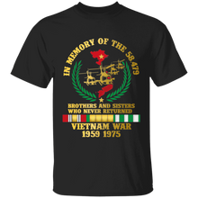 Load image into Gallery viewer, Vietnam War 1950-1975 Brother and Sisters Who Never Returned - Apparel