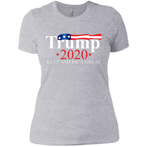 Trump 2020 Keep America Great Boyfriend T-Shirt