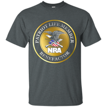 Load image into Gallery viewer, Patriot Life Member Benefactor - NRA Mens Shirt