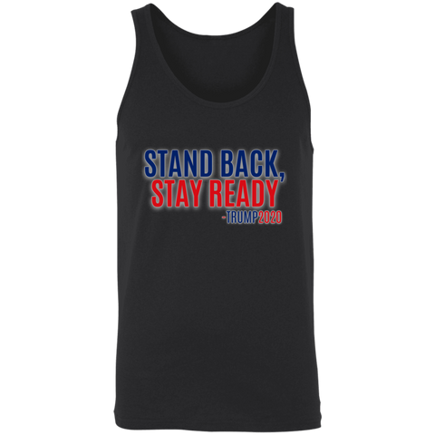 Stand Back Stay Ready Trump 2020 - Apparel