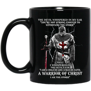 Child of God, Warrior Of Christ 11 oz. Mug